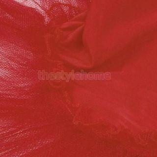 Girls Fairy Party Red Leotard Ballet Costume Tutu Skate Dance Skirt Dress 4 5T