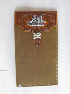 Tony Lama Team Roping Leather Western Roper Wallet Hunting Fishing Outdoors