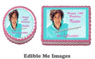 Harry Styles One Direction 1D Birthday Edible Image Cake Topper Frosting Sheet