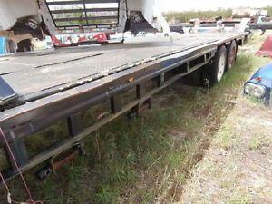 "48' Semi Tractor Trailer Step Drop Deck Flatbed Trailor 101"" Wide Flatbed"