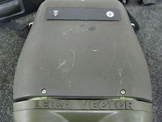 Vector Leica Binoculars Laser Range Finder Bearing Compass RARE