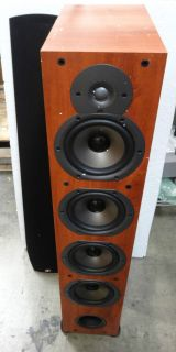 Polk Audio New Monitor 75T Four Way Ported Floorstanding Loudspeaker Cherry Each