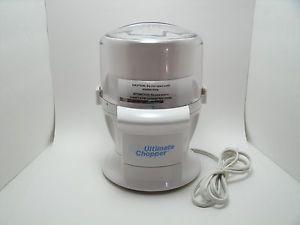 The Ultimate Chopper Food Processor