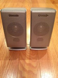 Panasonic SB FS520 Satellite Speakers Pair for Model No SC HT720 SC HT692
