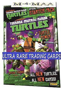 Teenage Mutant Ninja Turtles Starter Pack Binder 2013 TMNT Trading Card Games
