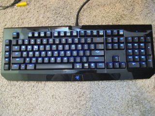 razer blackwidow ultimate keyboard how to turn on backlight