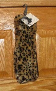 New Womens Winter Headband Ear Muffs• by Jaclyn Smith •Faux Fur Cheetah