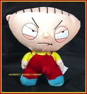 "Family Guy Stewie Griffin Plush Doll 8"" Toy W2 Tags"