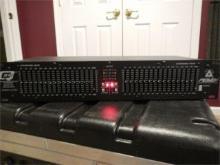 Peavey 2 Channel Graphic Equalizer EQ Q215 Q 215