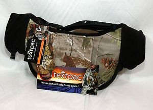 Textpac Camo Realtree APG Handwarmer Muff Hunting Fishing Winter Sports New