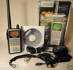 Details about Uniden Handheld TrunkTracker IV Digital Police