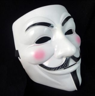 Cool Halloween Masquerade Face Mask V for Vendetta Guy Fawkes Fancy Dress Party