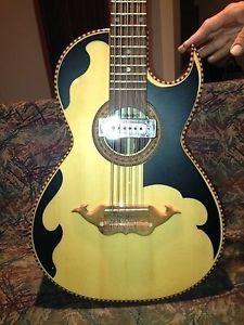 Gabbanelli Bajo Sexto Guitar and Hard Case Very RARE