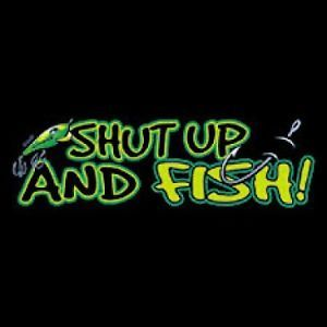 Shut Up Fish T Shirt Funny Country American Redneck Indian Fishing Hunting
