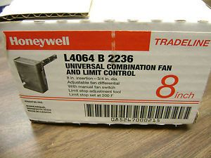 New honeywell l4064w1080 combination fan and limit control combination fan limit control honeywell l4064 b 2236 new publicscrutiny Image collections