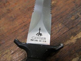 Vintage Gerber Fixed Blade Knife