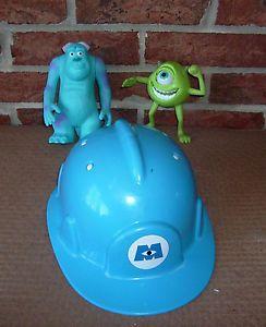 2 Disney Pixar Monsters Inc Figures Sully Mike Plush Monsters Inc Hard Hat