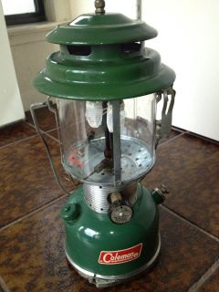 Vintage 1967 Coleman Gas 220F Lantern with Parts Safe Camping Outdoor Gear