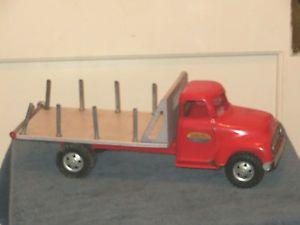 Vintage Tonka Flatbed Stake Lumber Truck