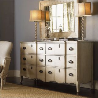 Lexington Twilight Bay Devereaux Dresser in Antique Linen   01 0351 222
