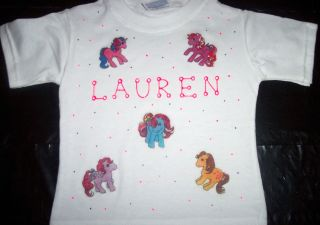 Personalized Toddler Youth Tee Shirt My Little Pony