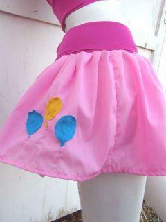 My Little Pony Skirt Pinkie Pie MLP FIM Cosplay Your Size Kawaii Custom Costume