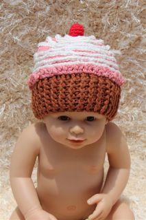 New Cotton Handmade Baby Child Teddy Bear Knit Hat Photograph Newborn to 3 Year