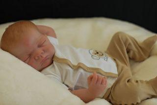 Reborn Charlie Doll Anatomically Correct Baby Boy Full Vinyl Body