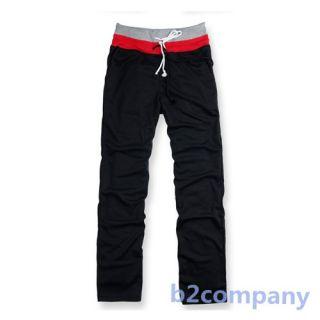 New Men Male Sport Baggy homedress Long Pants Training Jogging Trousers Pajamas
