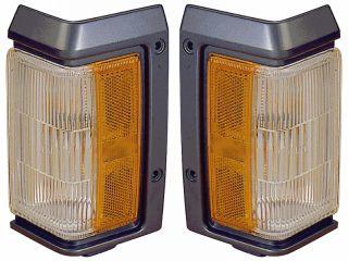Nissan Pathfinder Truck Front Side Marker Lamp Light Assembly Pair Set LH RH