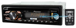 Pioneer DEH 6400BT 2yr WARNTY Car Stereo Radio CD  Player with Bluetooth