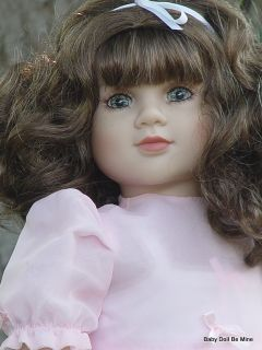New in Box My Twinn Doll Bella Blue Green Eyes Golden Brown Hair Freckles