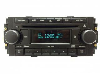 Dodge Dakota Caliber RAM Chrysler Jeep Radio 6 Disc Changer  CD Player RAQ
