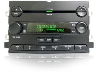 06 07 Ford Freestyle 500 F150 Mercury Montego Radio Aux  6 Disc CD Changer