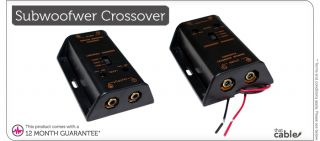 2 RCA Phono Car Audio Subwoofer Crossover Filter Noise Reduction Box 3 Band