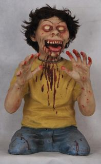 Twisted Teaser Boy Animated Prop Crazy Scary Haunted House Yard Decor Halloween