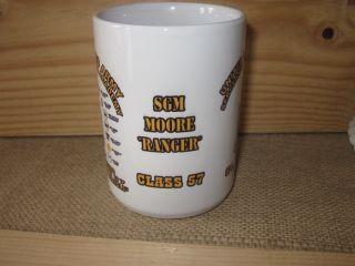 US Army Sergeants Major Academy Ultima Class 57 Coffee Mug ft Bliss TX Usasma
