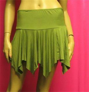 Latin Salsa Cha Cha Rumba Ballroom Dance Super Sexy Handkerchief Mini Skirt