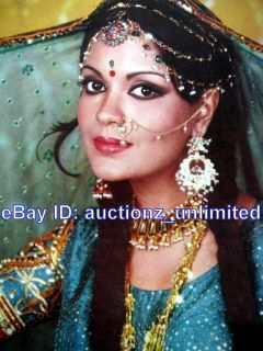 Bollywood Actress Zeenat Aman India Yesteryear Star RARE Old Poster