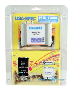 USA Spec iPod iPhone Control Interface for Ford Factory Car Stereo w O SAT Radio