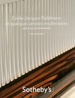 Sothebys Emile Jacques Ruhlmann Modernistes Auction Catalog 4 June 2009