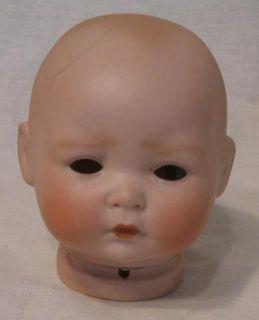 """Antique 11"""" Century Kestner Infant Baby Doll German Porcelain Blue Eyes 14"""