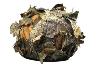 1x Waterproof Unisex Camo Deciduous Leaves Bionic Cap Hat Outdoor Jungle Hunting