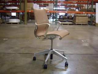 Herman Miller Setu Chair Chino with Mango