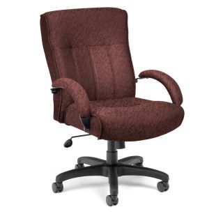 Executive Manager Mid Back Desk Office Chair 400lbs New