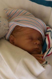 Baby Sunshine Nursery Reborn Boy Doll Mommas Lil Monkey Bonnie Brown