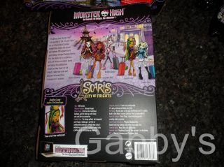 Monster High Scaris Jinafire Long Daughter of The Chinese Dragon New in Hand