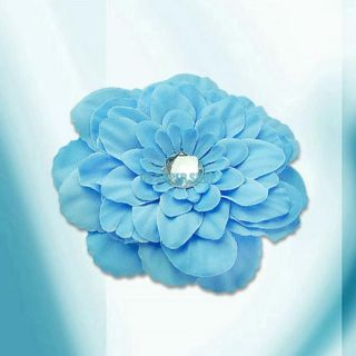 Colorful Peony Nice Baby Girl's Gift Head Flower Hair Bow Clip for Hat Hairband