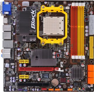 ECS A785GM M V1 0 AMD AM3 DDR3 785G Esataii VGA HDMI DVI Fire Wire Motherboard 0881038018553