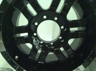 "Moto Metal Series MO951 Gloss Black Machined Wheel 17x9"" 8x6 5"" $340 00"